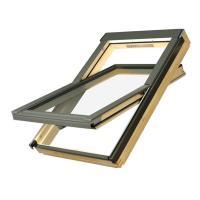 Szkielet FTS V 200x200 - ZESTAW Fakro Okno dachowe obrotowe FTP-V U4 Top-Safe + Kołnierz Uszczelniający EZV-P  [78 x 140]