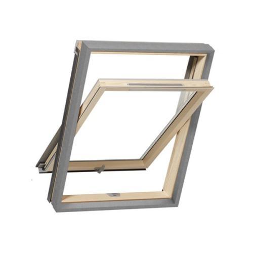 okno premium roofart 500x391 - Okno obrotowe 3-szybowe Premium Thermo RoofART